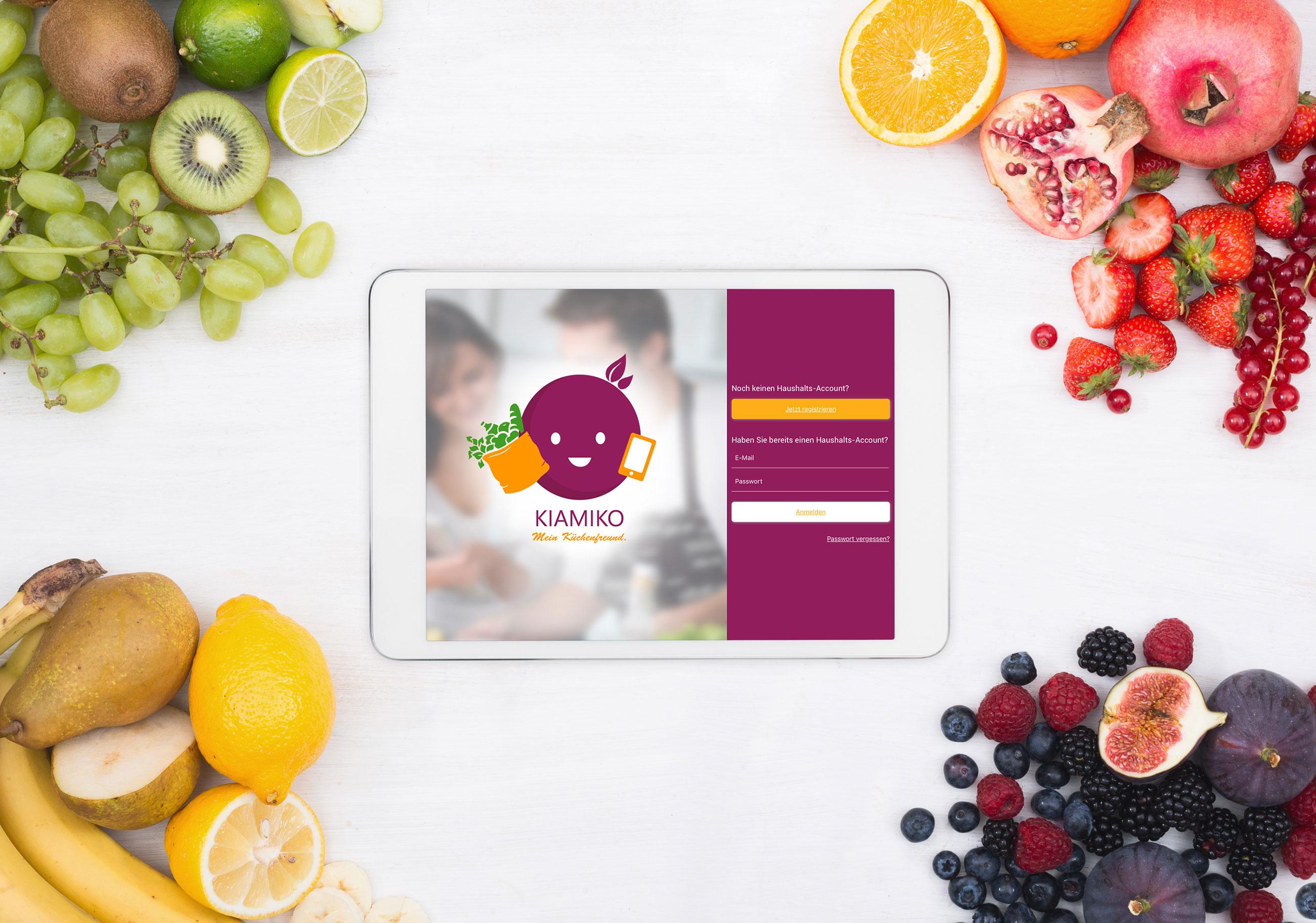 Kiamiko - Die smarte Küchen App von morgen